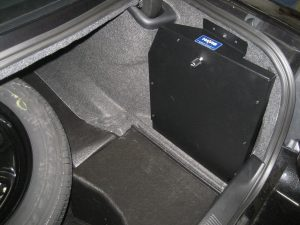 Trunk mounted power supply